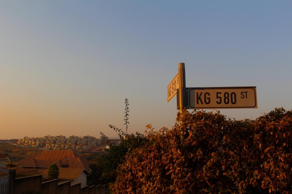 Burgess Romano_Rwanda - street sign